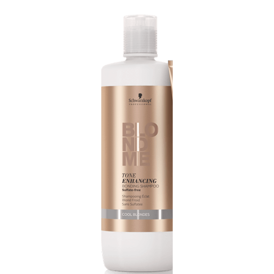 BLONDME Tone Enhancing Bonding Šampon - Cool Blondes 1000 ml