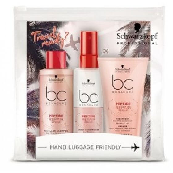 BC TRAVEL KIT PEPTIDE REPAIR RESCUE