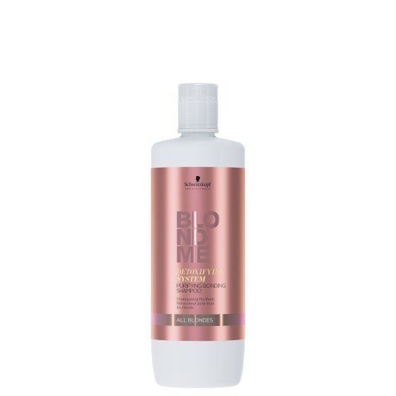 BLONDME DETOXIFYING SYSTEM PURIFYING BONDING ŠAMPON 1000 ml
