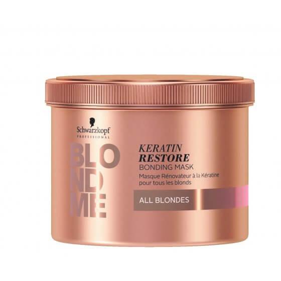 BLONDME Keratin Restore Blonde maska - All Blondes 500ml