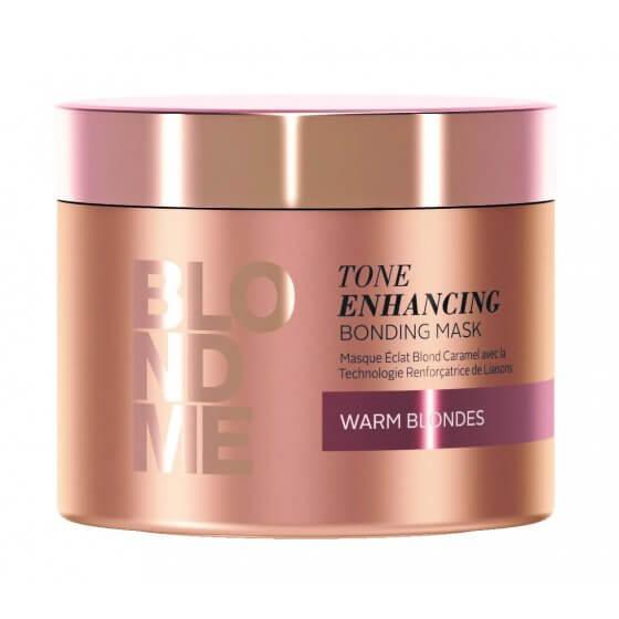 BLONDME Tone Enhancing Bonding Mask -Warm Blondes 200ml