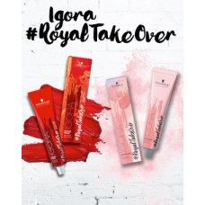 Igora Royal Takeover Dusted Rouge, trajna boja za kosu 60 ml