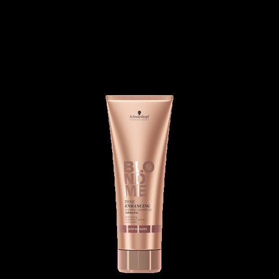 BLONDME Tone Enhancing Bonding Šampon- Warm Blondes  250 ml