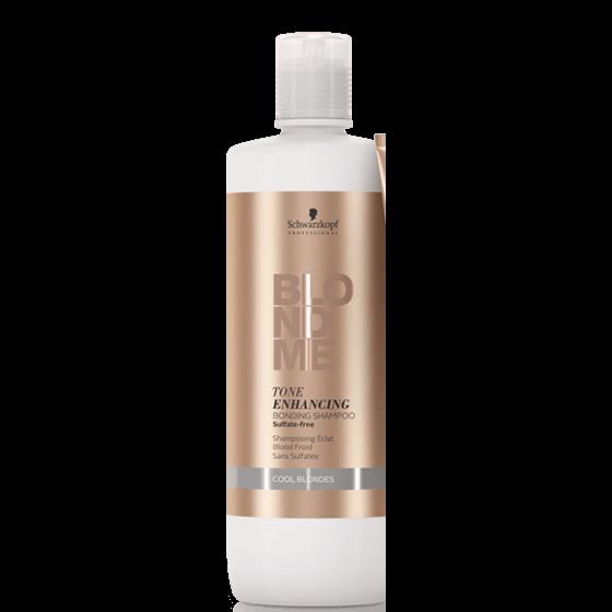 BLONDME Tone Enhancing Bonding Šampon - Cool Blondes 1000 ml