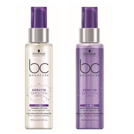 BC KERATIN SMOOTH PERFECT DUO LAYERING 2x100 g